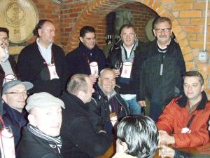 Krauthaker na degustaciji s čelnicima RK Zagreb
