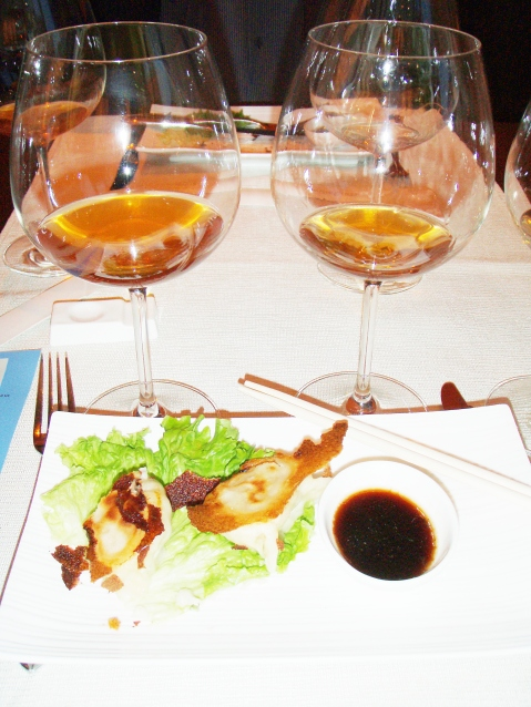 Ravioli s mesom i tzv.narančasta hrvatska vina