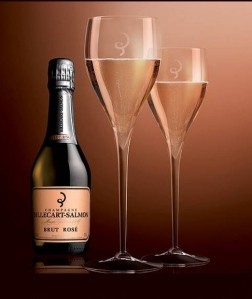 Billecart salmon rose