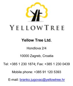 Zuto stablo Yellow Tree