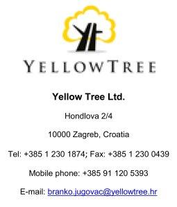Zuto stablo Yellow Tree