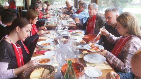 Gastronauti alma Bremec Vukmanic Ivana i Dalibor, Zganjer Ivan i Marina