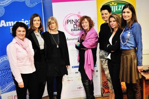 Marija Vukelic, Daniela Petricevic Golojuh, Alis Maric, Sanja Muzaferija, Iva Drganc, Orjena Zaja i Dorotea Kolic