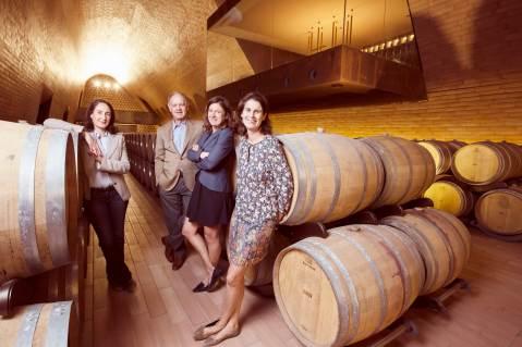 Antinori Albiera, Piero, Allegra e Alessia
