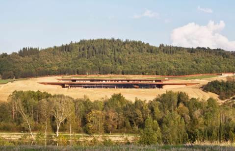 Antinori nel Chianti Classico Ottobre 2012