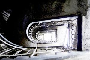 Jeruzalem podrum Stepenice u dubinu