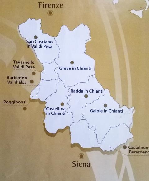 Toscana Chianti classico oblast