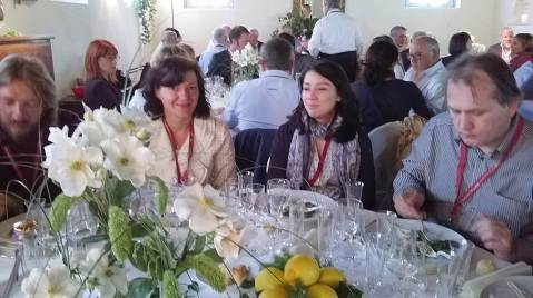 Nonino lunch Daniela Markoivic Stefania Manfredi