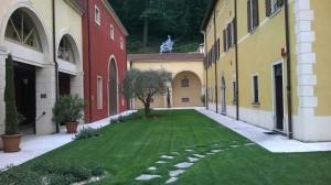 Soave Rocca Sveva dvoriste