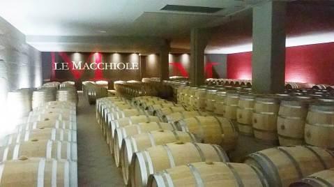 Le Macchiole: podrum za dozrijevanje vina