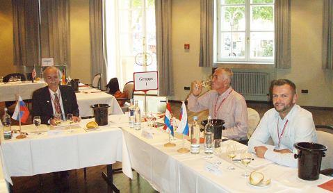 HSS - Hrvatska, Slovenija, Slovačka: prof. Marin Berovič kao predsjednik žirija, te Franjo Francem i Andrej Ondrejmiška kao članovi