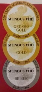 Mundus medalje