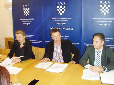 Božica Marković, Gianfranco Kozlović i Igor Barbarić