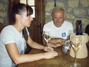 Stjepan Puhelek Purek sa kćerkom Ivanom