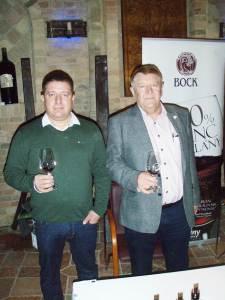Jedna od ikona vilanjskog i mađarskog vinogradarstva i vinarstva - Joszef Bock, sa sinoim Valerom u