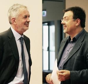 Publiku su na otvorenju festivala portugisca pozdravili gradonačelnik Pečuha Zsolt Pava (lijevo), te direktor ocjenjivanja Portugieser du Monde i glavni urednik eno-gastro časopisa Pecsi Borozo Zoltan Györffy