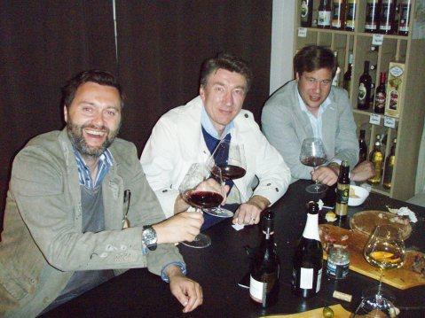 Dean Radinović, Tihomir Smoljanac i Dino Kušen