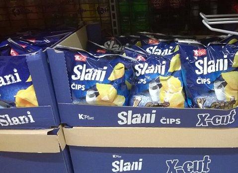 Chips slani