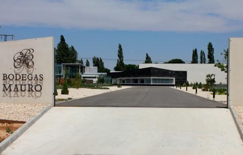 Bodegas Mauro u Tudeli de Duero: moderna arhitektura, lijepo uređen park