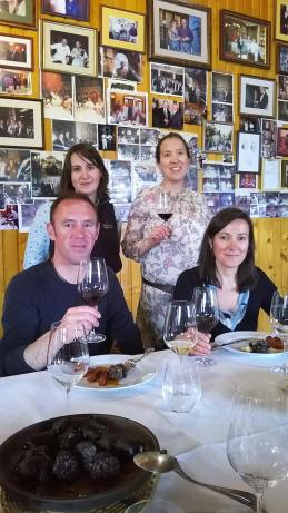 Slijeva nadesno: José Felix Callejo, Noelia Callejo, Beatriz Callejo i Cristina Callejo