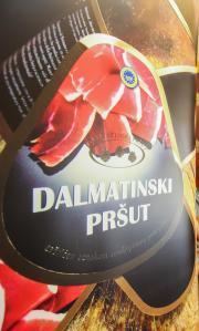 Dalmatinski prsut znak