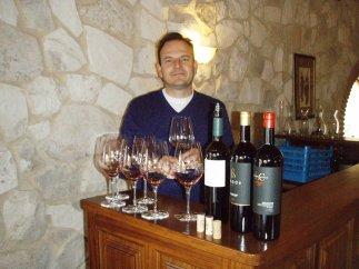 Galo López Cristòbal ponudio je na kušanje sjajna vina!