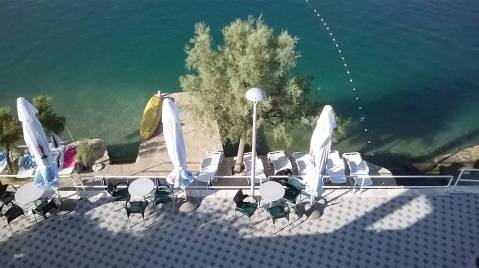 Hotel Posejdon, i njegova plaža
