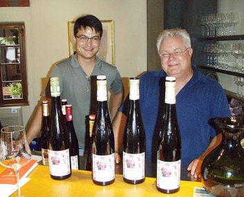 Gunther Hauk (desno), sa suradnikom