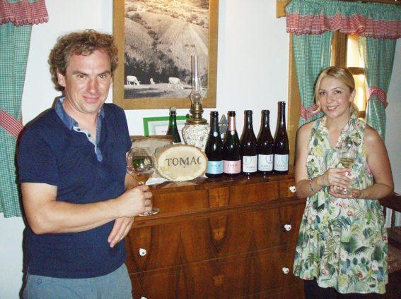 Tomislav Tomac sa suprugom Martinom/Tomislav Tomac with the wife Martina
