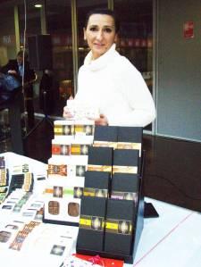 Sonja Bošnjak, čokolade osječke Čokoladirnice Chade: s čilijem, pa sa 70 posto kakaoa i s đumbirom, s malinom i klinčićem, zatim s paškim sirom, s nadjevom od lavande, s ružmarinom, sa sjemenkama konoplje i pistacija…