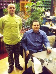 Muzej okusa: Damir Pejaković (sjedi), i chef Ivan Adžić