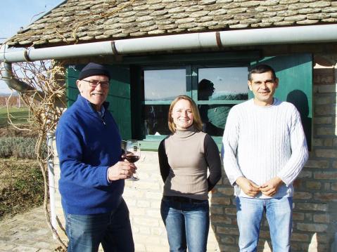 Mladen Siber (lijevo), Tanja Bućkalović i Nenad Žarković