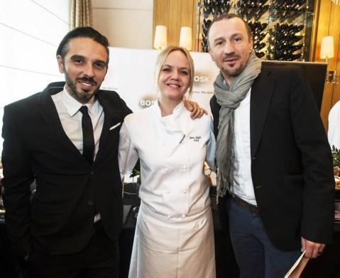 Projekt i tvrtku BOSK pokrenuli su znani hrvatski nogometaš Mario Stanić te Denis Delogu, autor knjige U šumi, potaknuti osobnim iskustvom poboljšanja zdravstvenog stanja promjenom prehrane. Delogu i Stanić na slici su sa cheficom Esplanade Anom Grgić