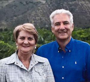 Pilar i Carlos Martinez Bujanda, vlasnici Finke Valpiedra