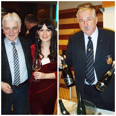 Iz SAD, gdje živi već više godina i radi u sektoru trgovine vinom, u Zagreb je potegnuo pjevač i glumac Mile Rupčić, naravno ne baš toliko radi ovdašnjih pjenušaca koliko zato što bi ovdje trebao snimiti novi album. Mile je na slici sa zelinskom vinarkom i pjenušarkom Ivanom Puhelek / Janez Šekoranja iz Bizeljskoga pjenušce radi od – predikatnih vina! Na pitanje nije li šteta baš predikat koristiti za šampanjizaciju odgovara kako nije jer potražnja je velika, najveći dio proizvodnje plasira, veli, u Njemačkoj. Slovenski P & F Jeruzalem za svoj pjenušac Gomila klasična metoda NV rabio je 80 posto moslavca (šipona, furminta) te 20 posto chardonnaya i crnog pinota. Penina je bila četiri godine na kvascu. P&F je došao i s Gomilom brut NV od chardonnaya i bijelog pinota rađenom metodom charmat. Vrlo solidan svjež pjenušac s osobito interesantnom maloprodajnom cijenom koja se najavljuje kod nas u Vrutku: 34 kune!